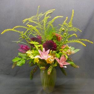 sample of medium Fall arrangement