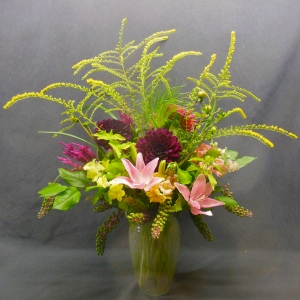 sample of medium Fall arrangement