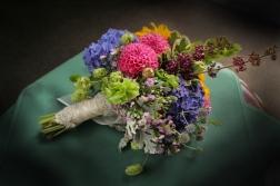 sample of seasonal brides bouquet