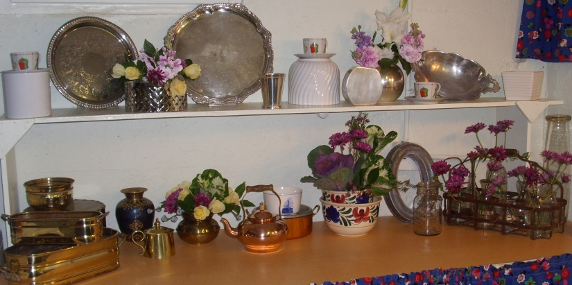 picture of eclectic collection of vessels