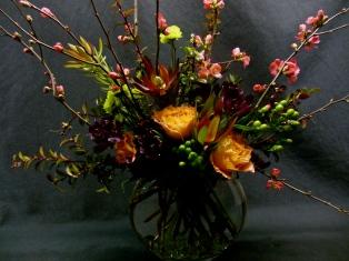 Sample of medium size bouquet