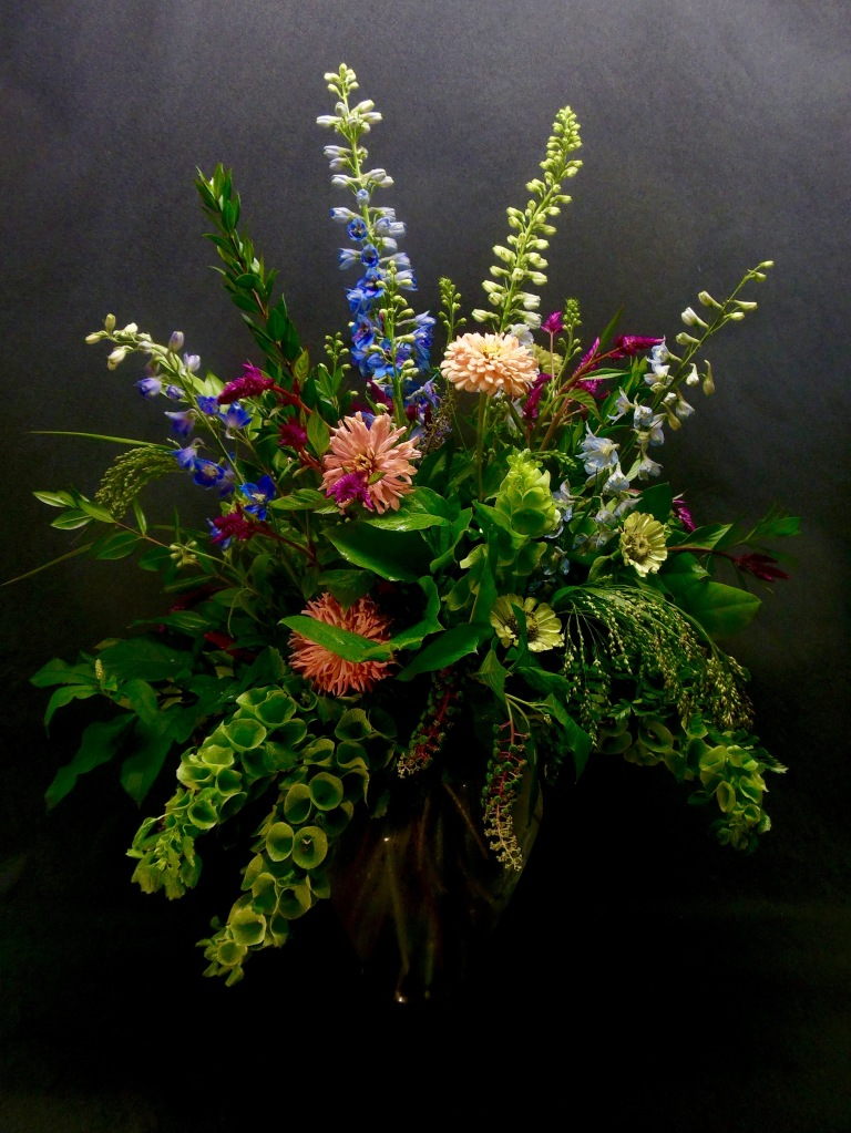 picture of bouquet with summer blooms