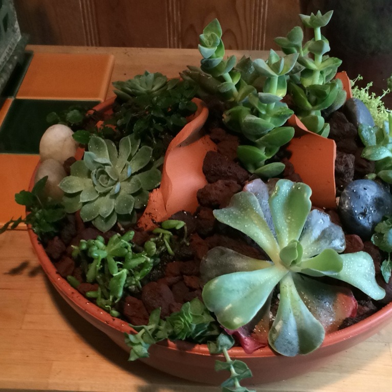 Cracked Pot arrangement